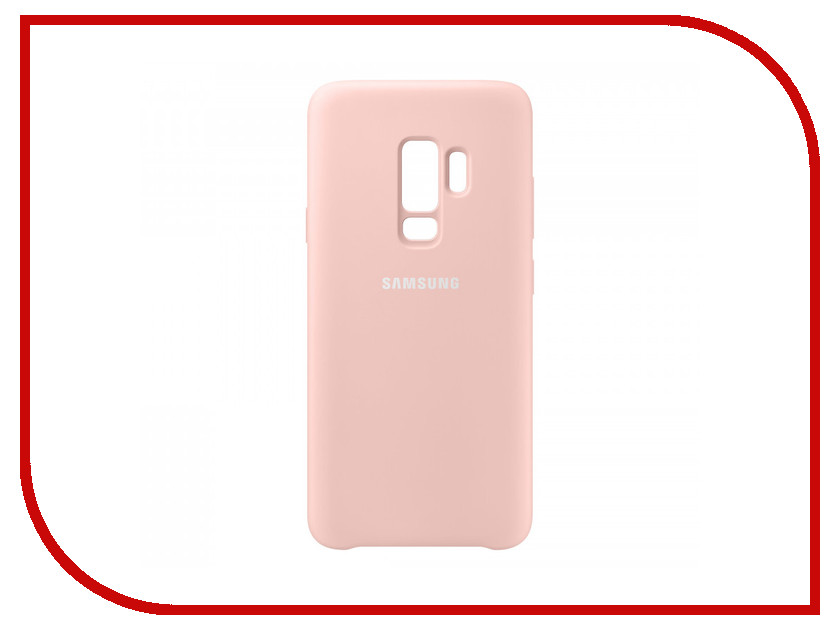 Аксессуар Чехол Samsung Galaxy S9 Plus Silicone Cover Pink EF-PG965TPEGRU maiwo kp004 2 5 hard disk anti shock protective silicone cover case pink