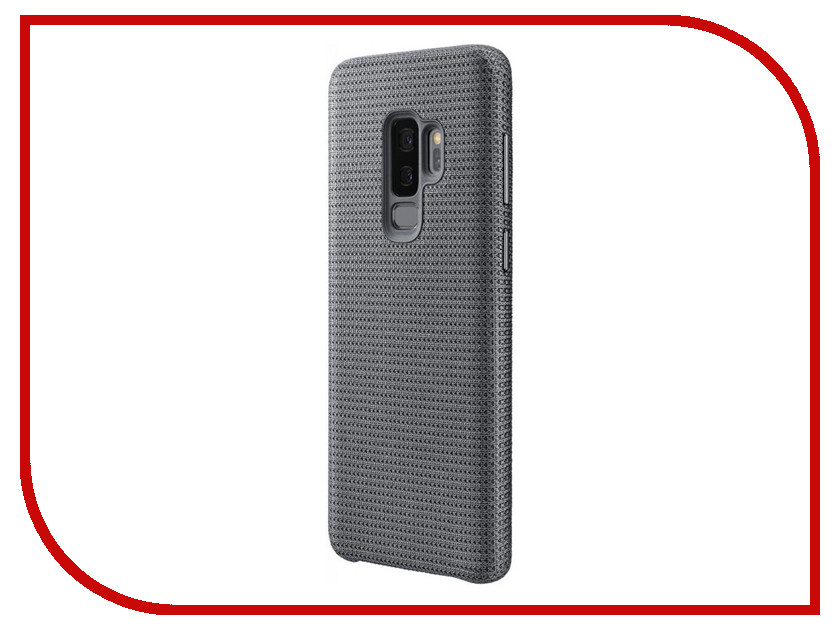Аксессуар Чехол Samsung Galaxy S9 Plus Hyperknit Cover Grey EF-GG965FJEGRU аксессуар чехол samsung galaxy s9 plus silicone cover light blue ef pg965tlegru