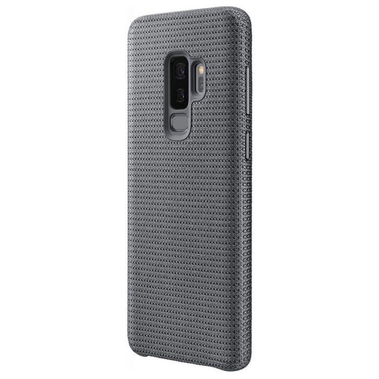 Аксессуар Чехол Samsung Galaxy S9 Plus Hyperknit Cover Grey EF-GG965FJEGRU