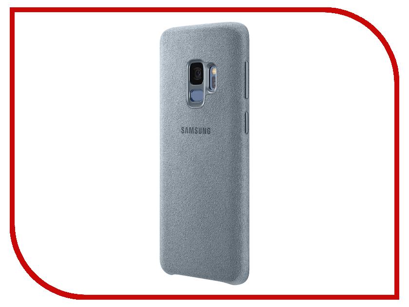 Аксессуар Чехол Samsung Galaxy S9 Alcantara Cover Mint EF-XG960AMEGRU аксессуар чехол samsung j3 2017 j330f zibelino clear view black zcv sam j330 blk