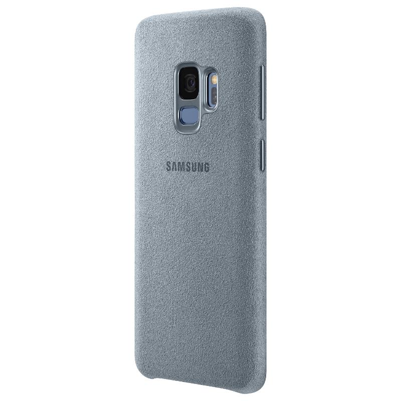 Аксессуар Чехол Samsung Galaxy S9 Alcantara Cover Mint EF-XG960AMEGRU