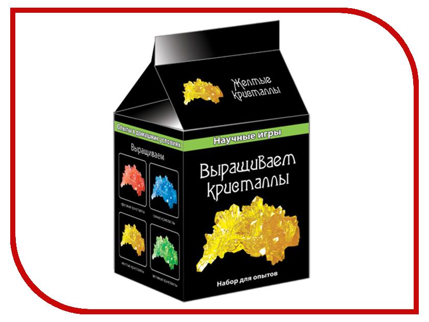 Игра Ranok Creative Выращиваем кристаллы Yellow 12116005Р издательство аст библия урожая выращиваем сохраняем готовим