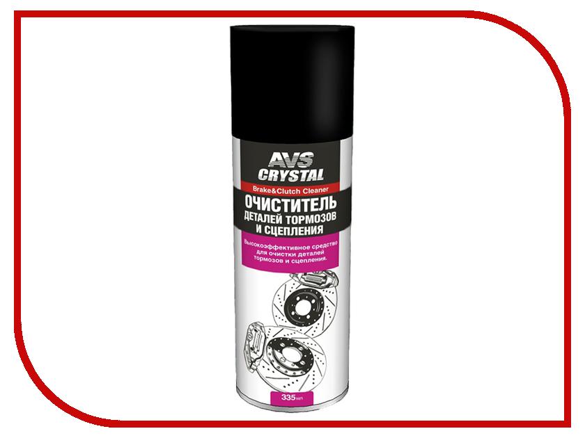 Очиститель деталей тормозов и сцепления AVS AVK-044 335мл A78521S преобразователь ржавчины avs avk 122