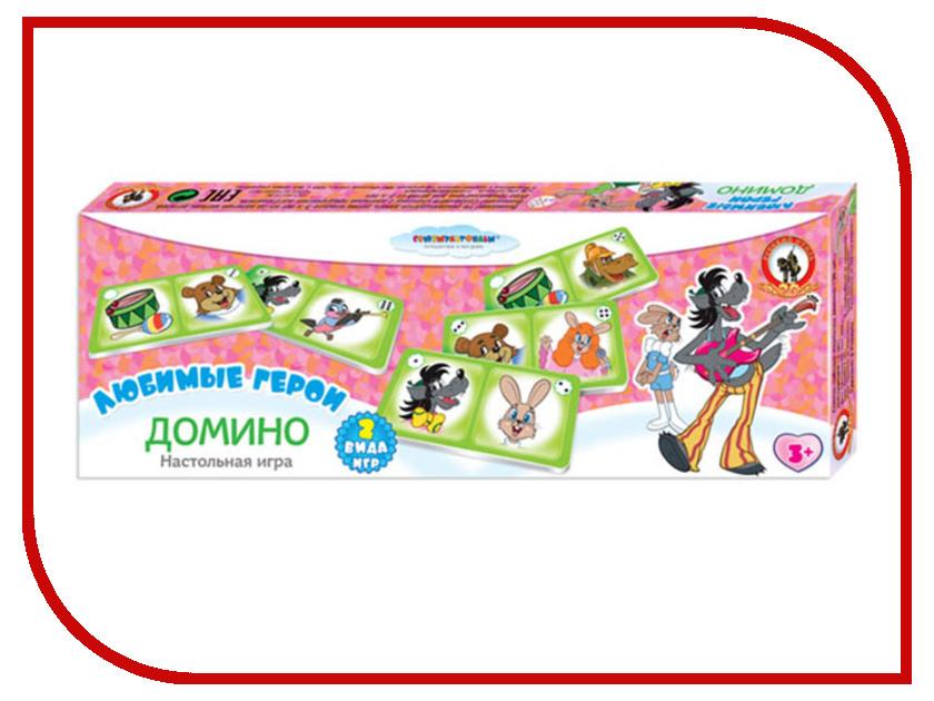Настольная игра Русский Стиль Домино Ну, погоди! 03242 игровые наборы русский стиль игра настольная викторина флаги страны города