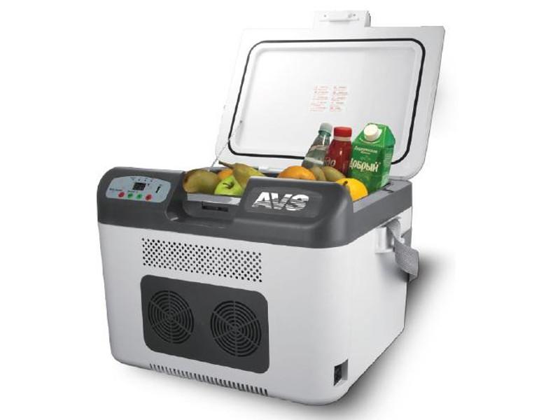Холодильник автомобильный AVS CC-27WBC A07084S цена 2017