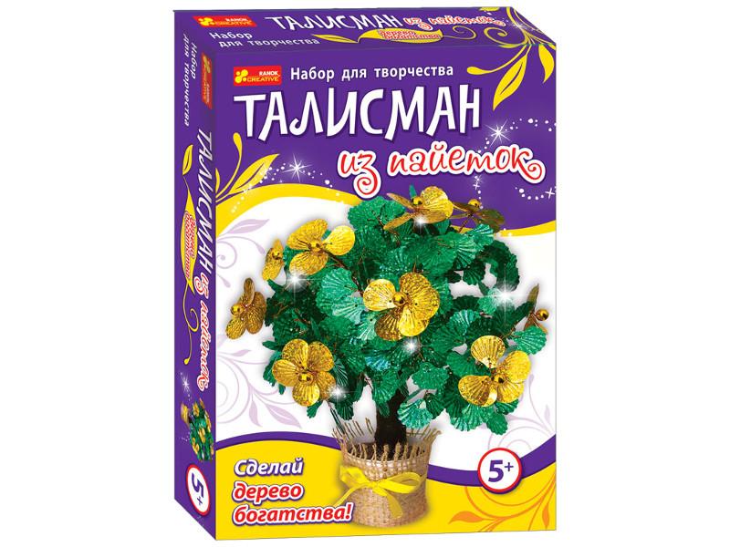 Набор для творчества Ranok Creative Сделай дерево богатства! 15100055Р цена