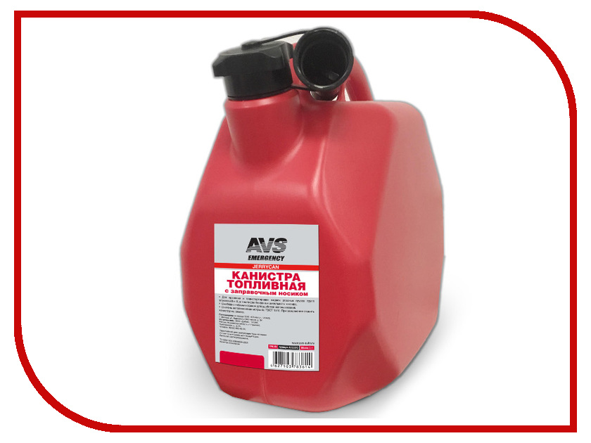 Канистра AVS MTK-10 10L Red A78968S