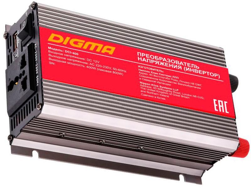 Автоинвертор Digma DCI-400