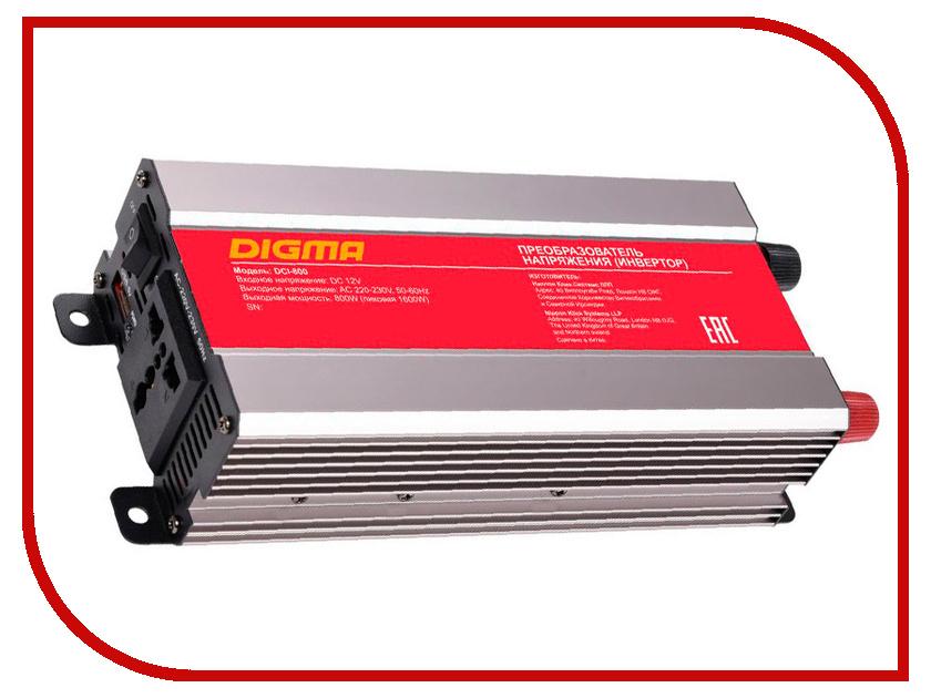Автоинвертор Digma DCI-800 автоинвертор wester psw250