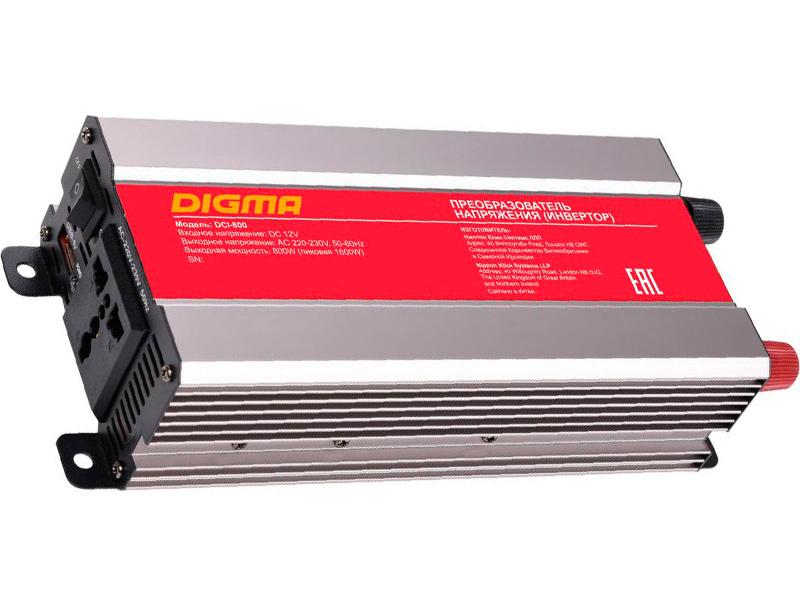 Автоинвертор Digma DCI-800 все цены