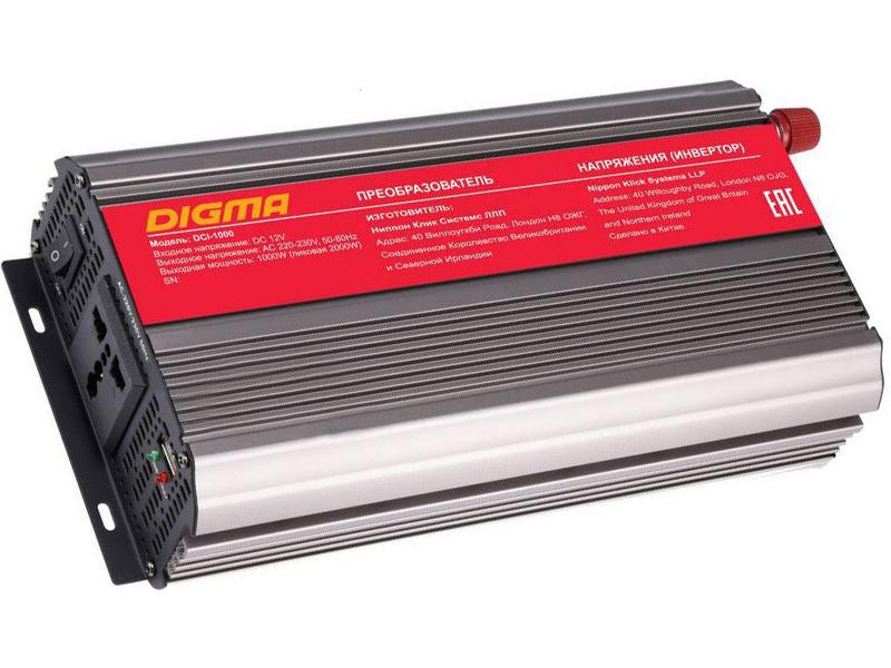 Автоинвертор Digma DCI-1000