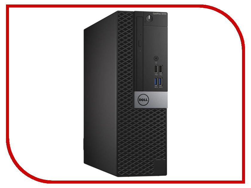 Настольный компьютер Dell OptiPlex 5050 SFF Black 5050-8178 (Intel Core i5-6500 3.2 GHz/4096Mb/1000Gb/DVD-RW/Intel HD Graphics/Ethernet/Linux)