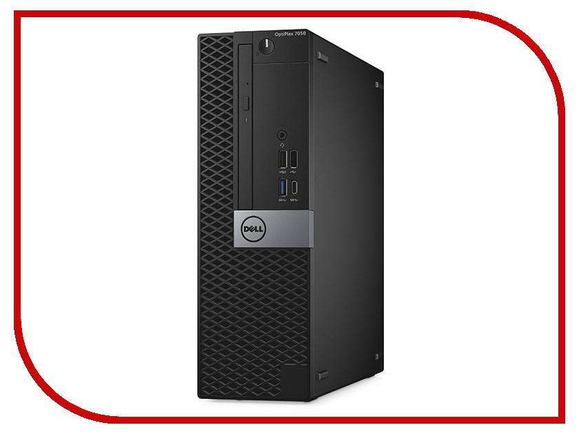 Настольный компьютер Dell OptiPlex 7050 SFF Black-Silver 7050-8336 (Intel Core i7-7700 3.6 GHz/8192Mb/1000Gb/DVD-RW/Intel HD Graphics/Ethernet/Windows 10 Pro 64-bit) моноблок dell optiplex 7450 core i7 7700 3 6ghz23 8 8gb 1tb dvd r7 m465x w10 pro 64 black 7450 3518
