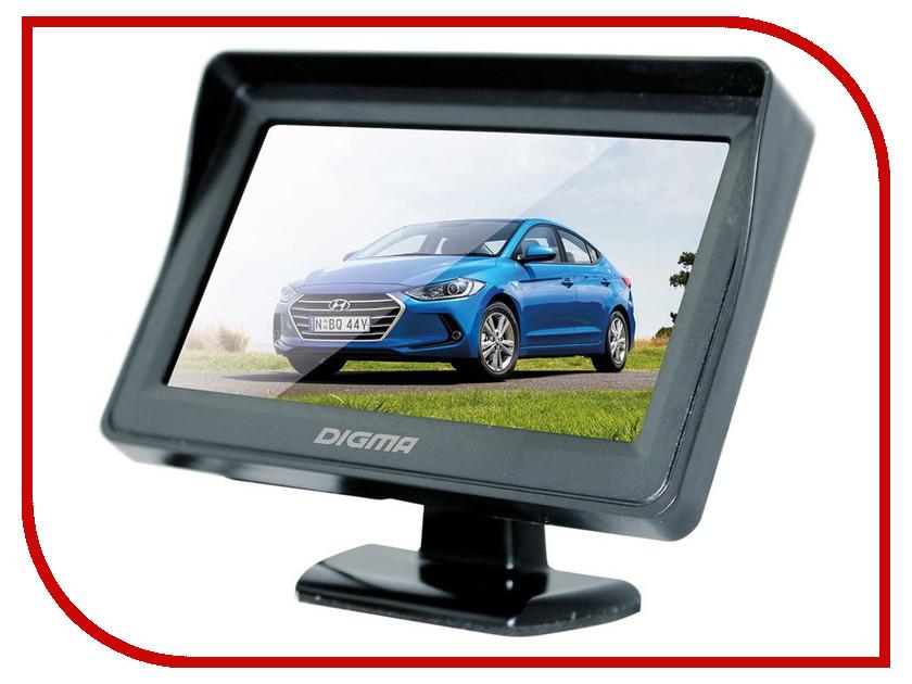 Монитор в авто Digma DCM-430 автомобильный жк телевизор digma dcm 430
