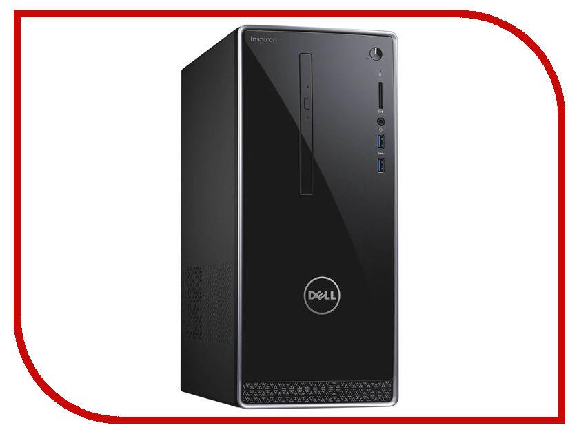 Настольный компьютер Dell Inspiron 3668 MT Black 3668-7215 (Intel Core i7-7700 3.6 GHz/8192Mb/1000Gb+128Gb SSD/DVD-RW/nVidia GeForce GTX 1050 2048Mb/Wi-Fi/Windows 10 Home) dell inspiron 3558