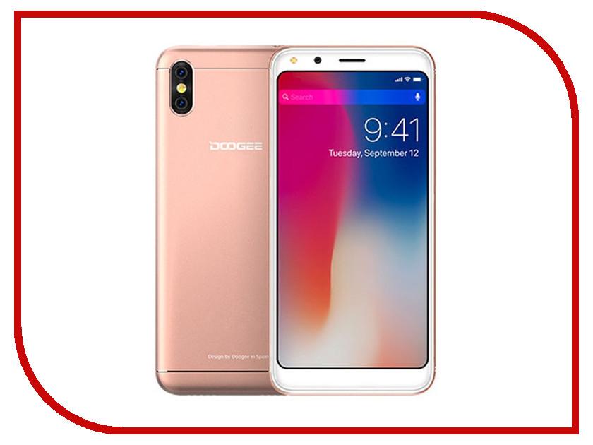 Сотовый телефон DOOGEE X53 Pink смартфон doogee x53 16gb black смартфон