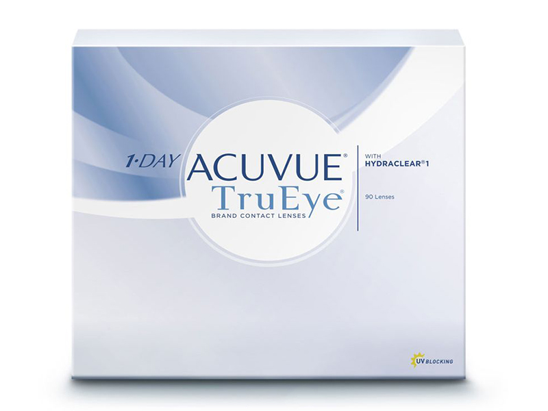Контактные линзы Johnson & 1-Day Acuvue TruEye (90 линз / 8.5 -2.25)