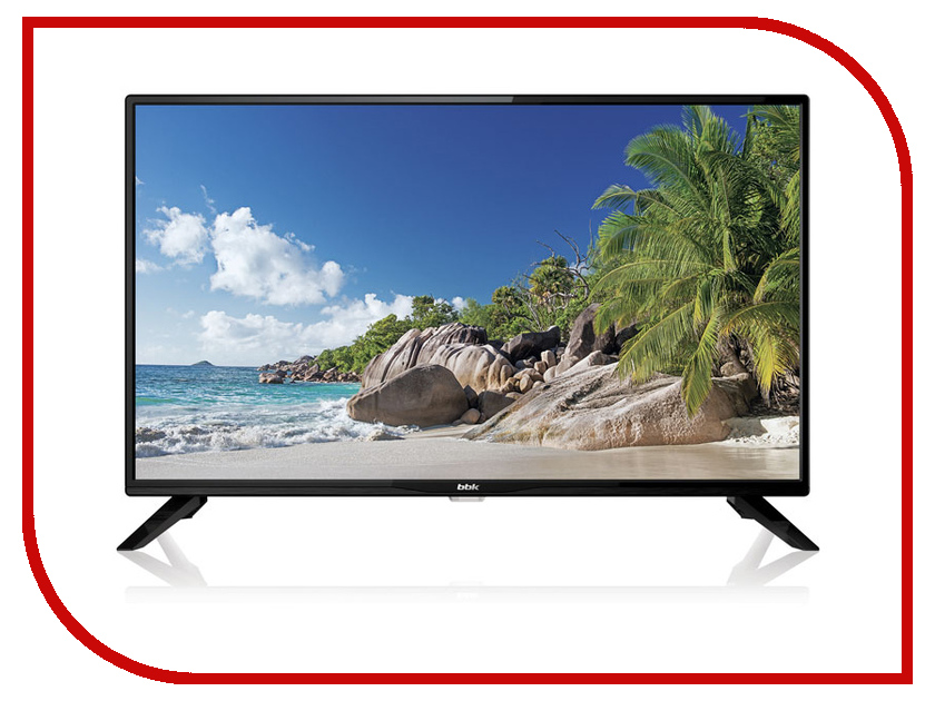 Телевизор BBK 39LEX-5045/T2C Black телевизор bbk 39lex 5027 t2c