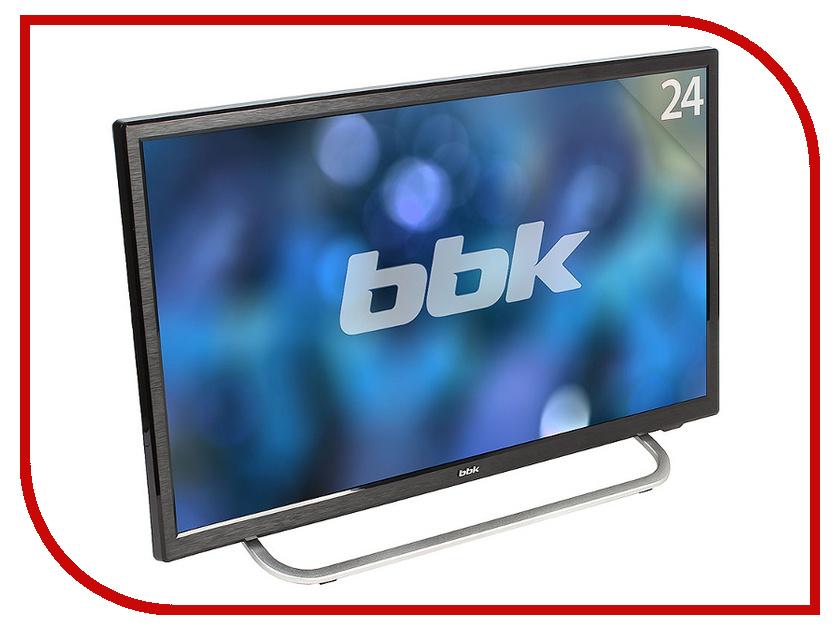 Телевизор BBK 24LEM-1027/FT2C Black жк телевизор bbk 22lem 5002 ft2c black