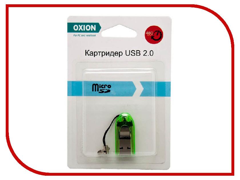 Карт-ридер Oxion OCR012GR Green