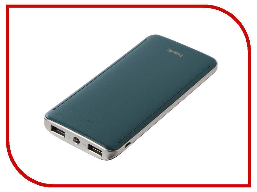 Аккумулятор Havit Power Bank HV-PB005X 10000mAh Cyan-Green mannol hydro hv 46
