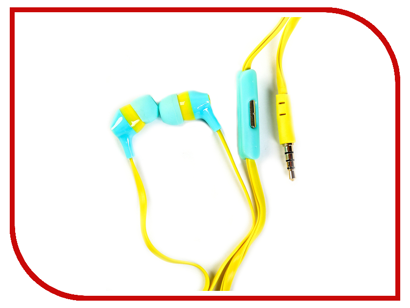 Havit HV-E29P Blue-Yellow мышь havit hv ms979gt usb blue