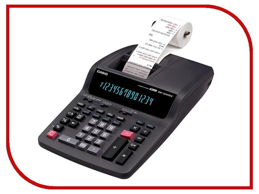 Калькулятор Casio DR-320TEC Grey