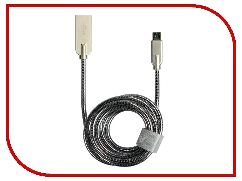 Аксессуар Partner Steely USB - microUSB 1.2m ПР037725