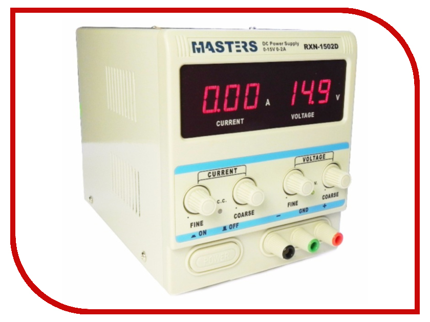 Лабораторный блок питания Masters 1502D