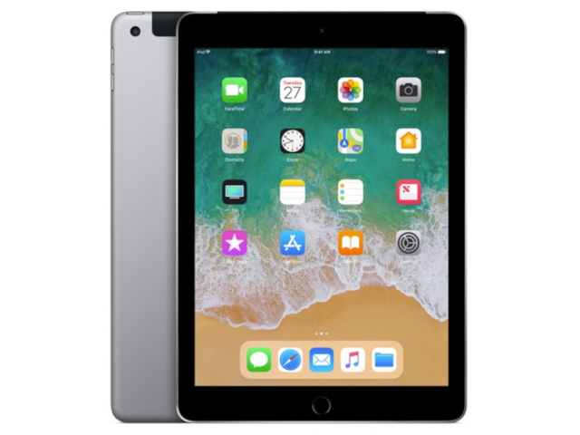 Планшет Apple iPad (2018) 32Gb Wi-Fi + Cellular Space Grey MR6N2RU/A куртка утепленная z design z design zd002ewcrhu5