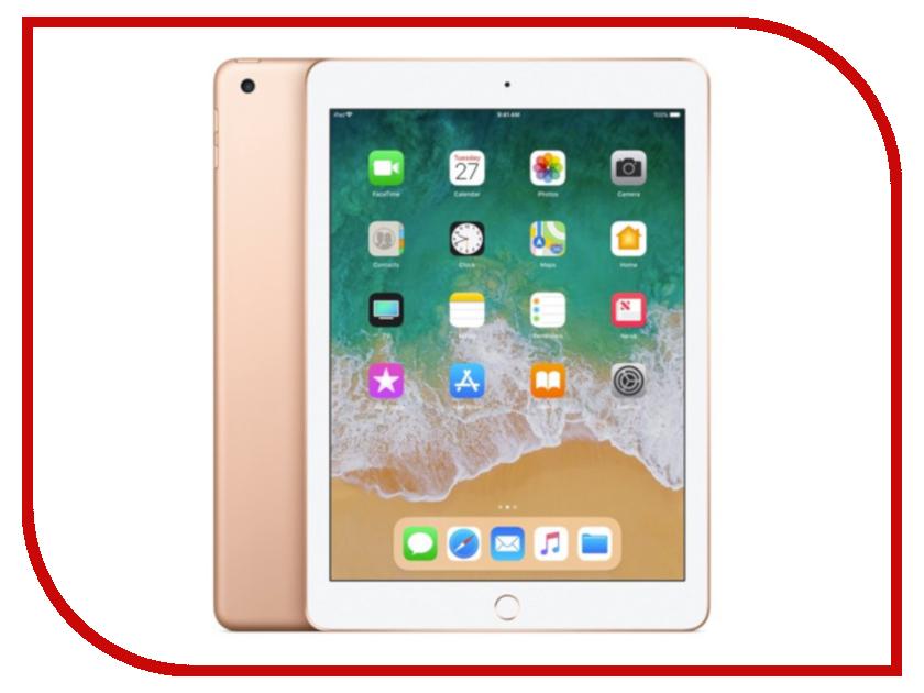 Планшет Apple iPad (2018) 32Gb Wi-Fi + Cellular планшет apple ipad 2018 32gb wi fi cellular gold mrm02ru a
