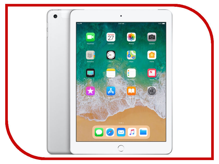 Планшет Apple iPad (2018) 128Gb Wi-Fi + Cellular apple mlq52ru a ipad pro 9 7 wi fi cellular 128gb gold