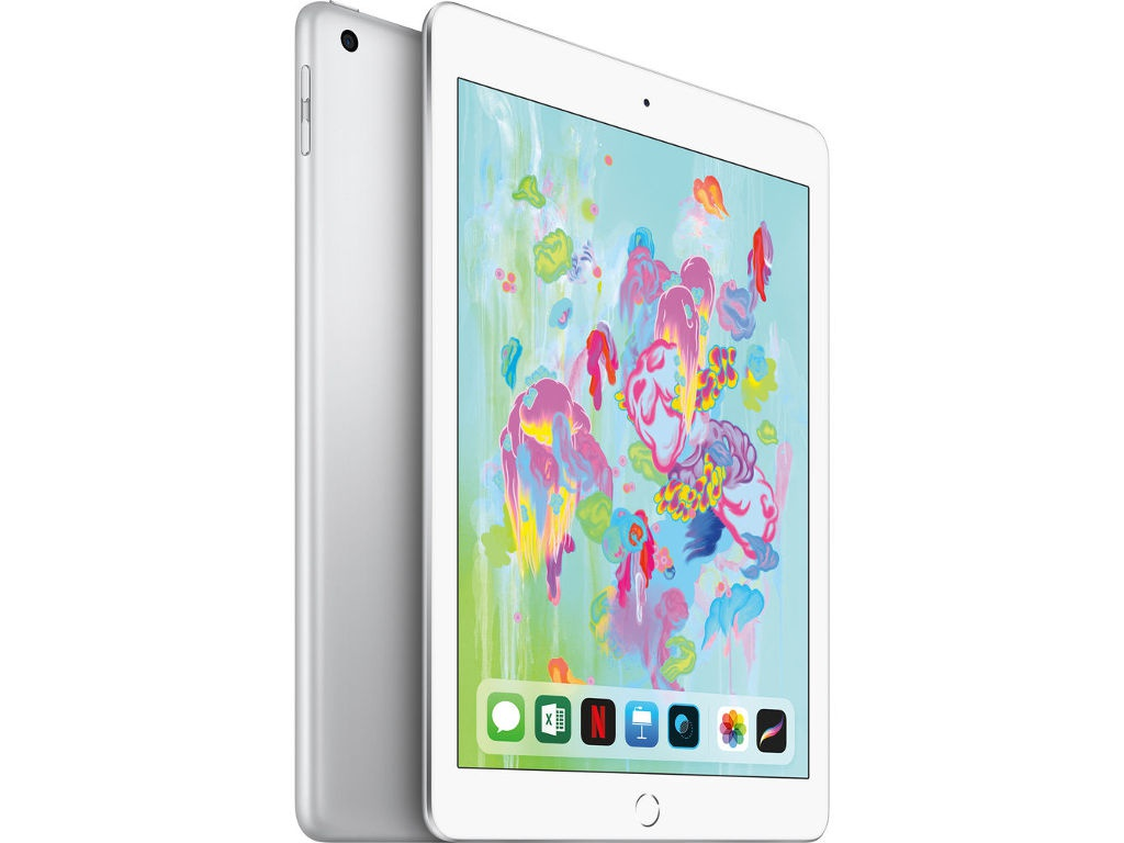 Планшет Apple iPad (2018) 32Gb Wi-Fi Silver MR7G2RU/A планшет