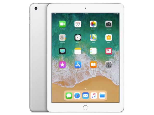 Планшет Apple iPad (2018) 128Gb Wi-Fi Silver MR7K2RU/A цена и фото