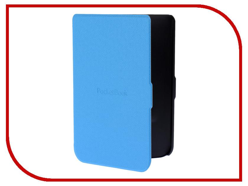 Аксессуар Чехол PocketBook614 / 615 / 625 / 626 Light BluePBC-626-LBL-RU аксессуар чехол pocketbook 614 615 625 626 dark blue pbc 626 bl ru