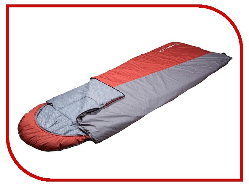 Cпальный мешок Huntsman Эксперт -5С Grey-Terracotta