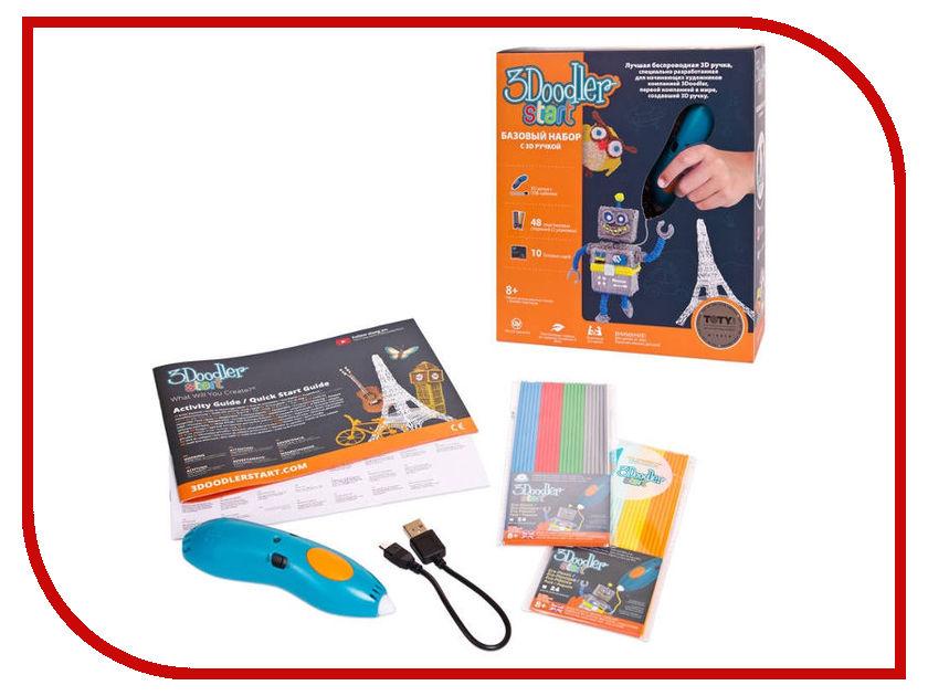 3D ручка 3Doodler Wobble Works Start 3DS-ESST-TNG-R-17 wobbleworks wobbleworks 3d ручка 3doodler start роботы подарочный набор
