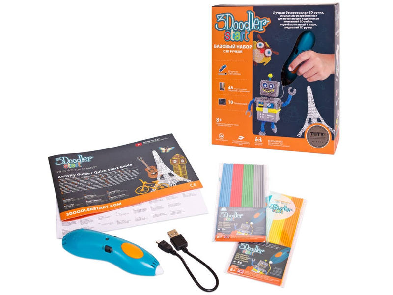 3D ручка 3Doodler Wobble Works Start 3DS-ESST-TNG-R-17