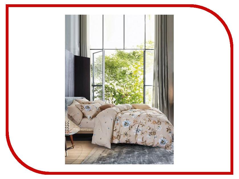 Постельное белье Famille SDS-68 Комплект Семейный Сатин шелковый