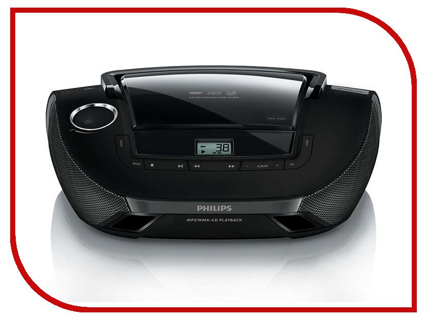 Магнитола Philips AZ 1837 philips philips az 385 черный cd flash