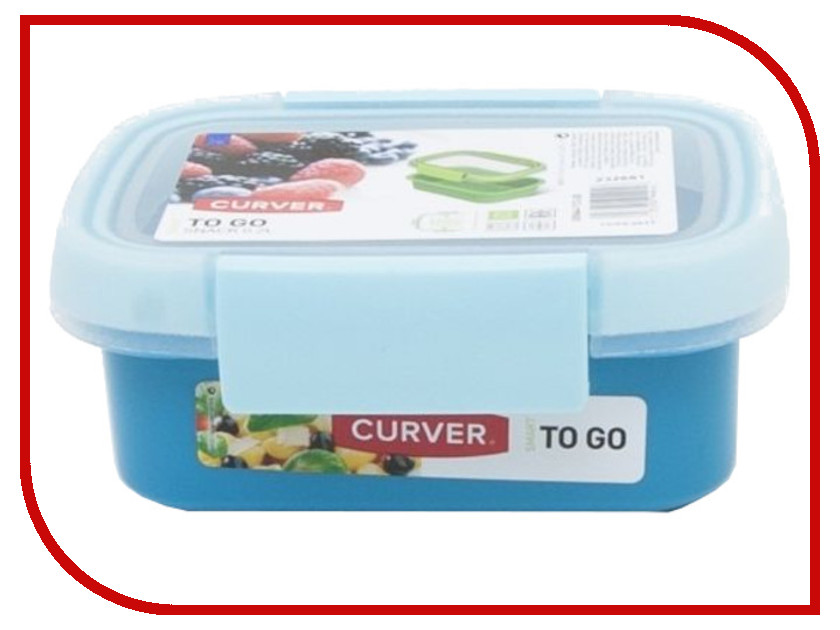 Контейнер Curver To Go 200ml Blue 00944-Y33-00 go to bed blue