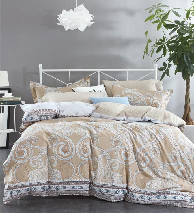 Постельное белье Famille RS-243 Комплект 2 спальный Сатин