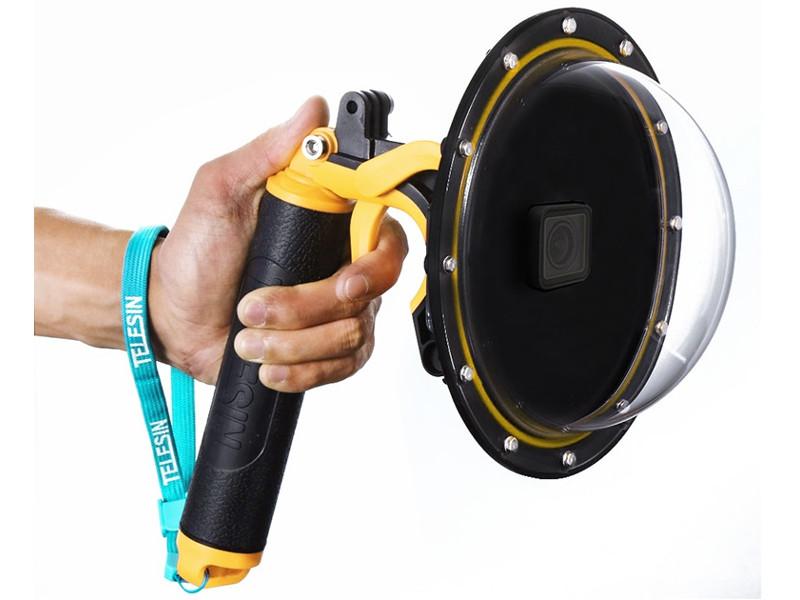 Фото - Аксессуар Telesin Подводный бокс Dome Port Black GP-DMP-T05 для GoPro Hero 5/6 аксессуар gopro dive housing ajdiv 001 водонепроницаемый бокс для hero 8