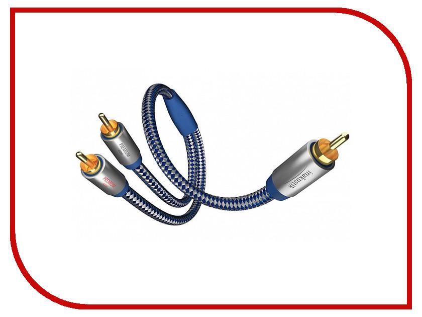 Аксессуар Inakustik Premium Y-Subwoofer Cable Y-Sub RCA - 2RCA 2m 0040802
