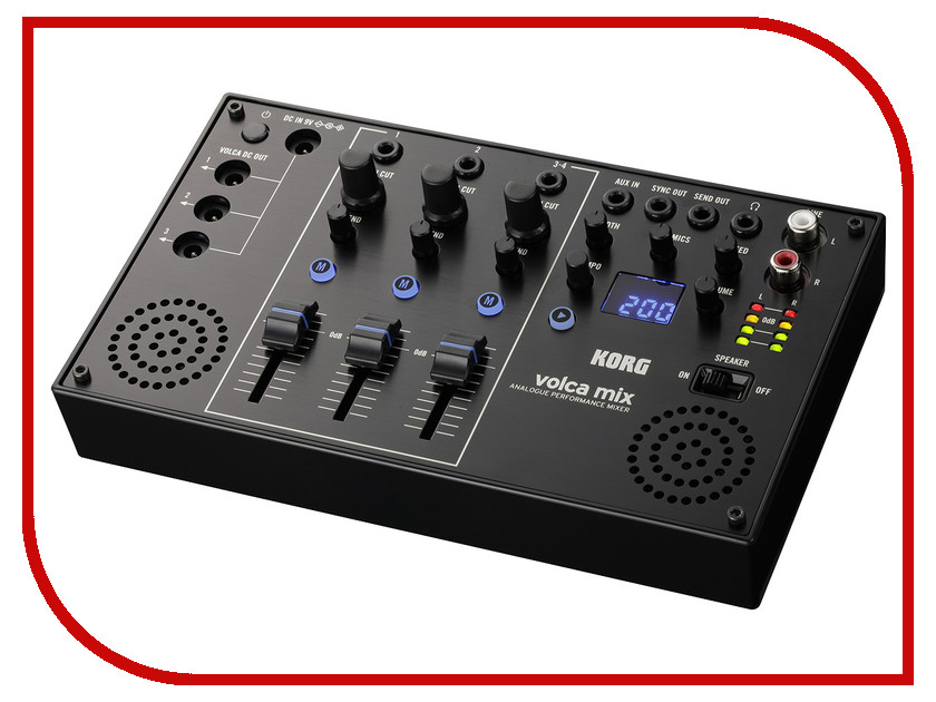 Пульт Korg Volca Mix korg volca kick key synthesizer analogue kick generator