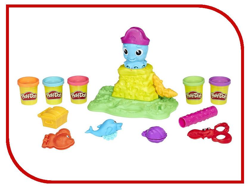 Игрушка Play-Doh Веселый Осьминог (E0800) hasbro игровой набор главная улица play doh город