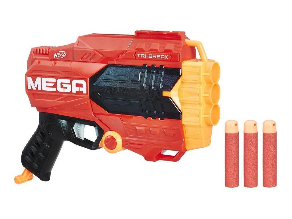 Игрушка Nerf Мега Три-брейк (E0103)