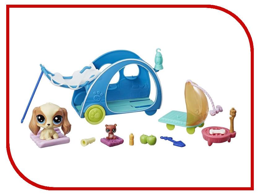 Игрушка Hasbro Littlest Pet Shop Хобби петов E0393 игровой набор hasbro littlest pet shop зверюшка с волшебным механизмом 4 предмета от 4 лет а5130