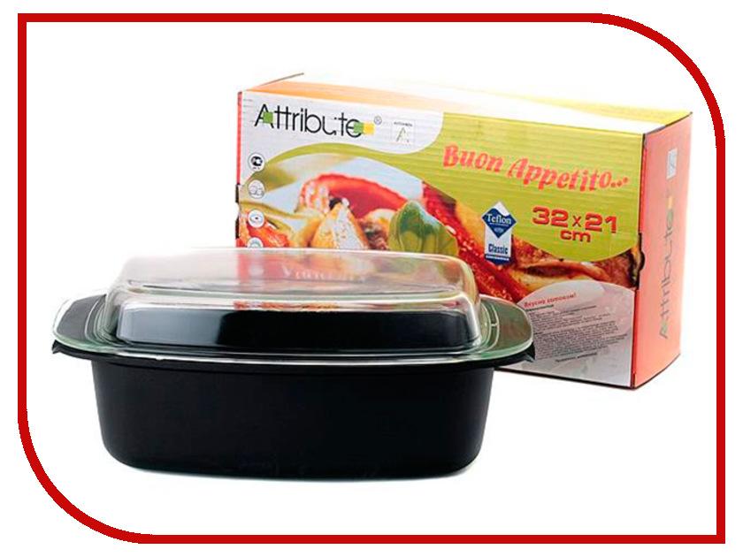 Утятница Attribute Buon Appetito 32x21cm AFB532 сковорода блинная attribute buon appetito 24см антипр пок е