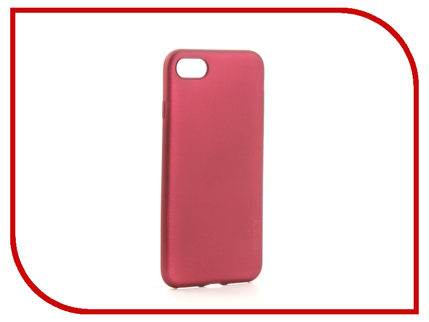 Аксессуар Чехол для Apple iPhone 7 / 8 X-Level Guardian Burgundy 2828-010 аксессуар чехол x level guardian для apple iphone 7 8 plus burgundy 2828 015